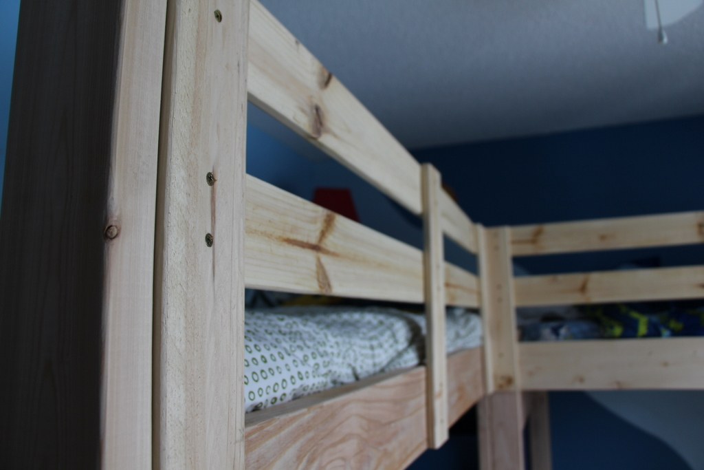 Woodwork L Shaped Loft Bunk Bed Plans PDF Plans