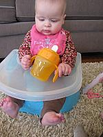 Milestones: Sippy Cup and Crawling!