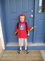Last Day of the First Year of Preschool