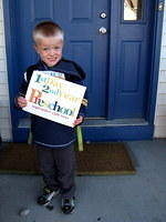 Michael's 1st Day 2nd Year of Preschool
