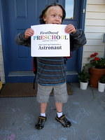 Patrick's First day of Preschool