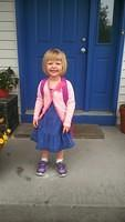 Elise's First Day of Preschool