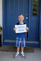 Patricks First Day of Kindergarten